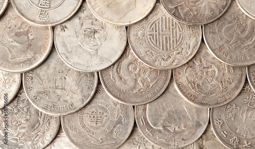 Chinese coins.