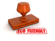 Rubber Stamp eco friendly  (clipping path included)