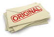 Original letters  (clipping path included)