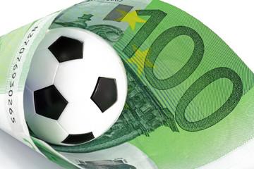 fussball mit euronote
