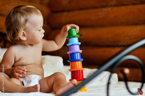 baby and toys