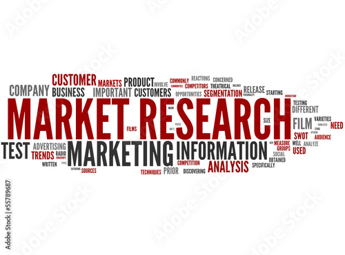 Market research (marketing, social research)