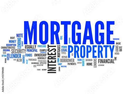 Mortgage (loan, property, home, bank)