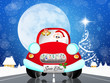 car of Santa Claus