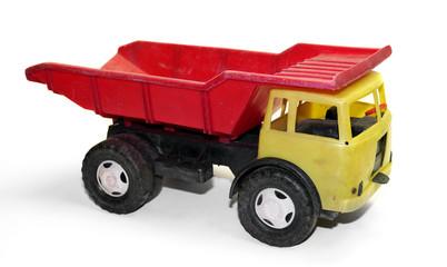 alter DDR Kipplaster, Kinder Spielzeug