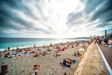 Nizza - spiaggia