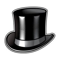 Top Hat men clothing retro fashion gentleman
