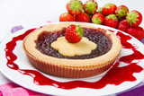 crostata alla fragola