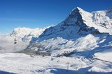 View of Kleine Scheidegg and the Eiger, Swiss Alps