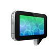 Glossy Pad Talk Cloud Futuristic Device Abstract