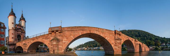 Heidelberg Alte Brücke Panorama