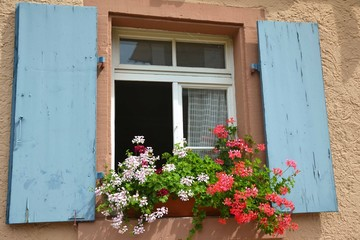 rustic summer window