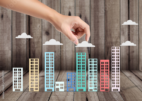 Building in the hand