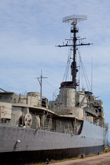old military ship