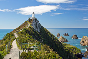 Neuseeland, Leuchtturm am Nugget Point