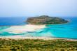 canvas print picture - Balos Kreta Bucht