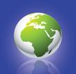 Globe 3d map