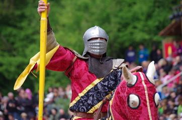 fête médiévale - joutes équestres