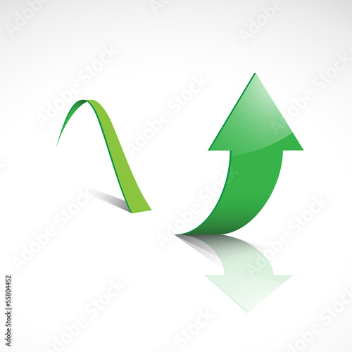 Vector arrow background