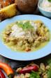 Cocos-Ananas-Curry mit Sojafleisch