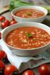 Tomatencremesuppe mit Reis