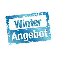 Winter Angebot