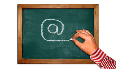 Kreidetafel II - Mailing