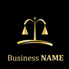 Vector logo lawyer