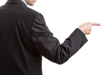 Businessman's command