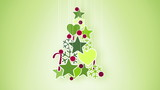 red green christmas tree decoration. Part 2.15-12.15 is loop