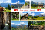 Alpine sceneries in Austria