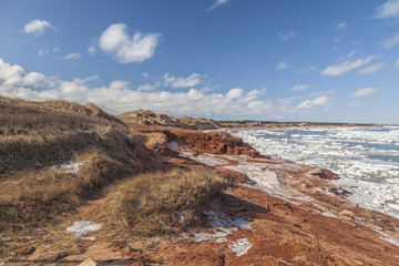 Cavendish Sand Dunes on Prince Edward Island