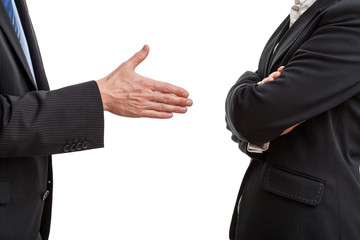 Try of handshaking