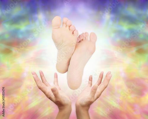 Healing Reflexology Foot Massage © Nikki Zalewski