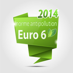bulle origami : norme euro 6 2014