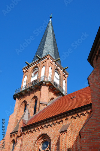 Poster Kirche in Wustrow