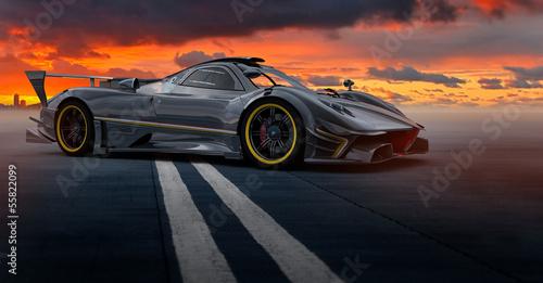 Foto op Canvas Motorsport carscene 137