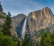 Fototapeten,yosemite,wasserfall,berg,natur