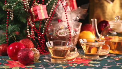 Tea and christmas 2