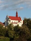 church of enclosured female cloister WIZYTKI in Jaslo poster