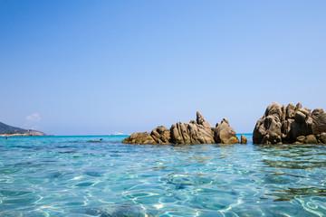 Sardegna, mare azzurro vista ravvicinata