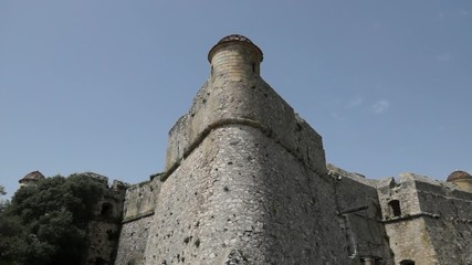 Old castle - Fort du mont Alban, Nice, France