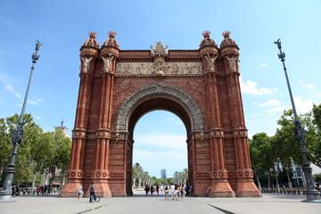 Arc de Triomphe, Barcelone