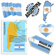 national colours of Argentina