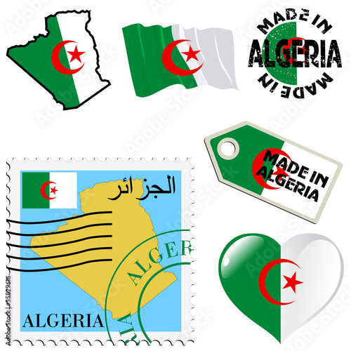 national colours of Algeria