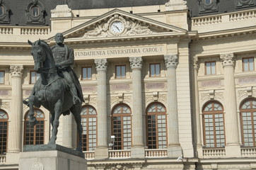 Equestrian monument of Carol I, Bucharest