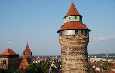 Stadt Nürnberg Sinwellturm Fünfeckturm Luginsland Kaiserstallung