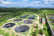 Recycling and disposal of solid waste on sewage treatment plant