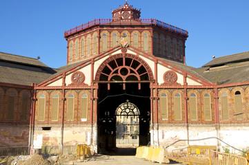 Restaurierung der Markthalle von St. Antoni Barcelona