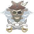 pirat totenkopf vintage